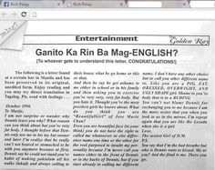 Passionate English Letter. Funny English Signs, Funny Pinoy, Funny Filipino Pictures, Tagalog jokes, Pinoy Humor pinoy jokes #pinoy #pinay #Philippines #funny #pinoyjoke
