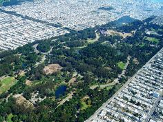 Golden Gate Park - another very large garden!