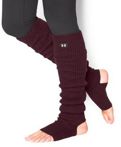 Under Armour Women's UA On & Off Leg Warmers One Size Fits All Ox Blood
