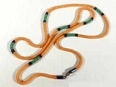 Wiener Werkstätte Art Deco Perlband Kette / Collier ° Design Dagobert Peche