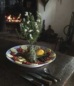 18th century Elaborate English Salad. These salads were inspired by royal salads served in Spain and Italy. Many of the ideas came from travelers returning from their Grand Tours.