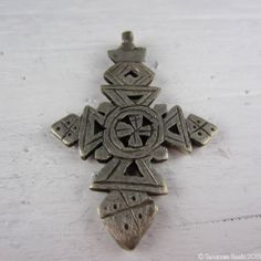 Ethiopian Coptic Cross http://sunstonesbeads.ca/collections/ethnic/Africa