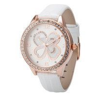 Womens Genuine Leather Designer Wrist Watch Waterproof  http://womenswaterproofwatches.com