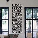 Live Love Laugh Wall Sticker