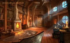 Art of Dreamfall Chapters: Reborn. House of All Worlds.