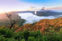 Bromo High View Indonesia by Photograph Fadil Basymeleh