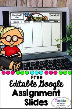 An easy way to digitally send your students (or children) their weekly assignments and homework to complete.  Google makes it super easy to insert clickable links! Teaching Activities, Learning Resources, Classroom Activities, Blended Learning, Teacher Tools, Google Classroom, Educational Technology, Super Easy, Education Logo