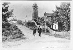 Walking through Fairport Harbor via @Lake County Ohio Visitors Bureau