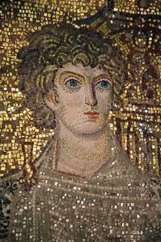 Martyr of Caesarea, in Cappadocia. He suffered in the persecution conducted by Emperor Hadrian. Ravenna Mosaics, Sea Peoples, Byzantine Art, Byzantine Mosaics, Ancient Artefacts, Catholic Online, Mosaic Portrait, Religious Icons, Thessaloniki