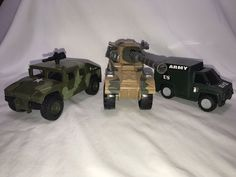 Vintage US Army Truck Models - Soma Toys Military Unit Vehicles Camo Set Of 3  | eBay