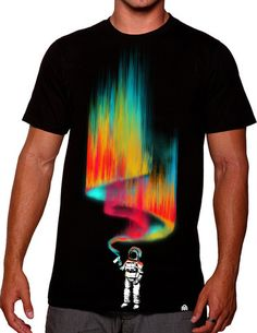 SPACE VANDAL TEE - This 5-color design is inspired by all the talented street artists who add beauty to our world. $ 28.00