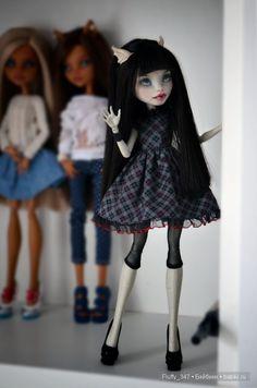 ООАК Monster High - Разные фото моих девочек / Куклы My Scene, Monster High, Монстер Хай от Mattel / Бэйбики. Куклы фото. Одежда для кукол