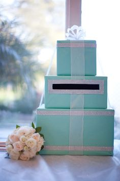 Wedding Gift Box Tiffany Blue : ... gift box more boxes inspiration wedding cards gift boxes tiffany blue