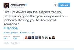 Christ, Aaron. Hannibal 2x6 Futamono