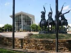 Cowboy Hall of Fame/Western Heritage Museum. going Saturday for the Prix de West Invitational. Texas And Oklahoma, Travel Oklahoma, Oklahoma City, Heritage Museum, Heritage Center, Great Places, Places To See, Travel Memories, Native American Art