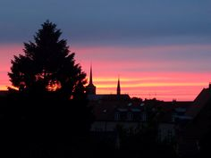 Sunset in Roskilde