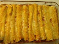 Cheesy Bean Enchiladas Recipe - Genius Kitchen