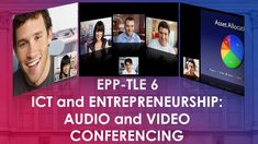 EPP-TLE 6 - Audio and Video Conferencing Borders Free, Powerpoint Format, Classroom Rules, Home Economics, Audio, Education, Youtube, Cabinet Design, Worksheets