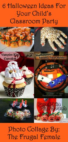 Prev1 of 7Next There are only three weeks until your child's classroom Halloween party. If you plan on making favors or yummy treats, it is definitely time to start gathering supplies, recipes, etc. Here are six fun and easy ideas for both edible and non-edible goodies. Check them out!