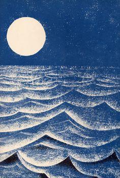 Look at the Moon - Leonard Weisgard, 1969