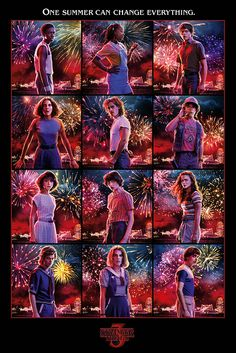 Stranger Things Character Montage Maxi Poster – Netflix Movies – Best Movies on Netflix – New Movies on Netflix Stranger Things Merchandise, Stranger Things Characters, Stranger Things Kids, Stranger Things Have Happened, Epic Characters, Stranger Things Season 3, Stranger Things Aesthetic, Stranger Things Netflix, 24 X 36 Posters