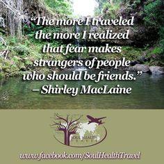 Soul Health Travel https://www.facebook.com/SoulHealthTravel/