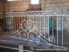 Houston TX custom wrought iron railings Raleigh Wrought Iron Co.