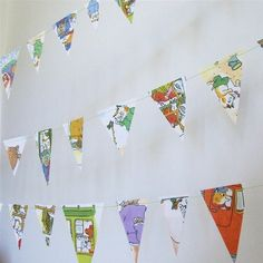richard scarry paper party GARLAND