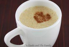 Paleo (gluten free) pumpkin chai tea latte   2 double spice chai tea bags 1 1/2 cups boiling water 1 can organic full fat coconut milk 4 heaping tablespoons pumpkin puree 1 teaspoon cinnamon 1 teaspoon maple syrup