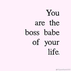 You may not be an entreprenuer but you are still the boss babe of something… your life! You get to write your own rules. Most of the rules we live by were given to us years ago and they no longer serve us. As the CEO and queen of your life, you get to create your own definition of success. What do you value and love? How do you want to design your lifestyle? How are you inspired to contribute? What floats your boat, lights you up, rings your bell? Self expression and living an authentic life…