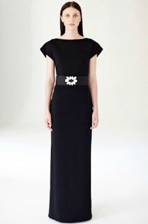 People Tree S/S 2014 Atelier Collection - Fair Trade Clothing - Black Evening Dress