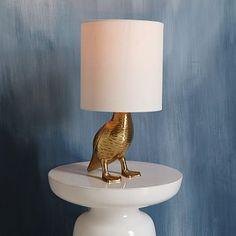 Rachel Kozlowski Mallard Duck Table Lamp #westelm