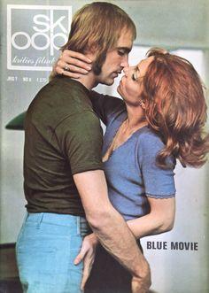 Blue Movie in Skoop - Gesigneerd door Hugo Metsers en Carry Tefsen Film Blue, Ursula, Playboy, Carry On, Cinema, History, Couples, Couple Photos, Cover