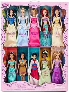 ariel Porcelain Doll | 2003 Disney Princess ARIEL Porcelain Doll 16″