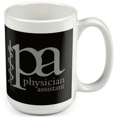"""PA – Physician Assistant"" Ceramic Mug"
