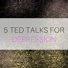 TED Talks About Depression