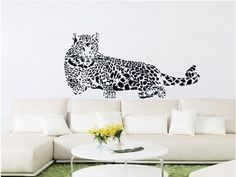 Wall Decals for Kids Rooms Animal Leopard Removable Vinyl Poster Free Shipping.  #ArtDeco