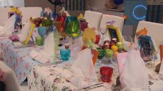 Dinner Party Decorations  My Kitchen Rules, Thursdays 9pm on Sky Living HD.