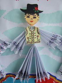 Origarden: 1 DECEMBRIE - ZIUA ROMÂNIEI Diy And Crafts, Crafts For Kids, Arts And Crafts, Paper Crafts, Family Activities, Preschool Activities, Santa Crafts, Projects For Kids, Origami
