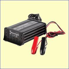 De HQ-CHAR-CAR06 is een professionele 10 A acculader voor 12 V accu's tot 200 Ah. Door gebruik te maken van microprocessorbesturing en switch-mode technologie is de acculader bijzonder klein en licht. Geen loodzware transformator! De microprocessor bestuurt de lading via een 7-staps laadcyclus. http://www.vego.nl/accu/hq-char-car06/hq-char-car06.htm