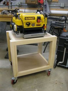 Easy Shop Table - Planer Table #7: Final Thoughts... - by Lockwatcher @ LumberJocks.com ~ woodworking community