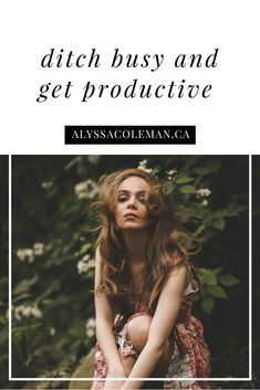 """& nothing cute about busying your life away!& Learn how to cut off """"busy"""" and be productive. Creative Business, Business Tips, Business Women, Online Business, Business Quotes, Growing Your Business, Starting A Business, Internet Marketing, Online Marketing"""