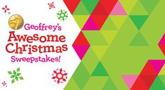 Win a $2,000 Toys R Us gift card or other daily prizes!!!