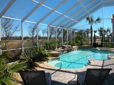 Florida Custom Homes - Custom Pool Design