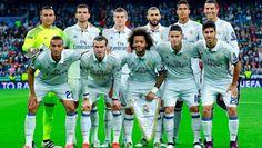 EQUIPOS DE FÚTBOL: REAL MADRID contra Legia Varsovia 18/10/2016