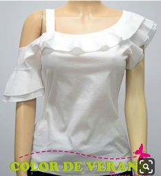 Blouse Styles, Blouse Designs, Sewing Blouses, Trendy Fashion, Womens Fashion, Trendy Tops, African Fashion, Ideias Fashion, Fashion Dresses