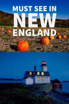 Things to do in New England USA | New England travel guide | New England road trip  - - - #newengland