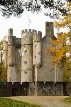 Braemar Castle, Scotland. built 1628
