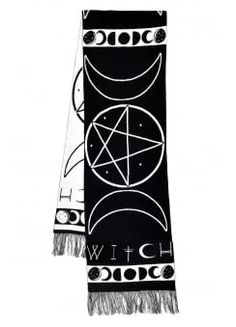 Witch Knitted Scarf