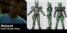 Roland is a very good friend of Drew's and Jo's he is the normal kid who loves his comics. His Dad owns Zoom comic shop were he buys all the latest issues of Beetleborgs. He has the special ability of being able to run at great speeds.